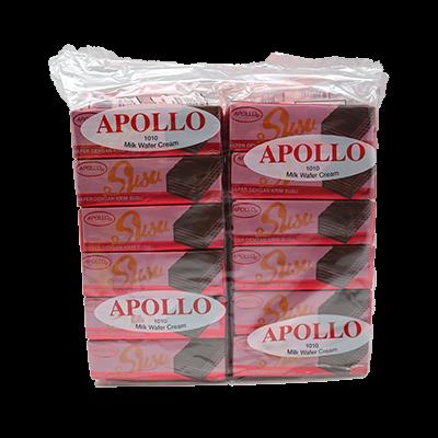 APOLLO WAFER MILK 1X48X12G