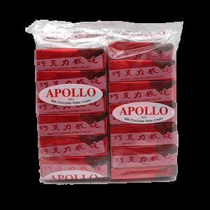 APOLLO WAFER CHOC 1X48X12G