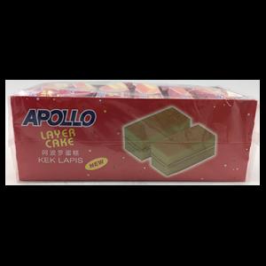 APOLLO L/CAKE VANILLA 1 x 24X22G