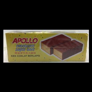 APOLLO L/CAKE CHOC 1 x 24X22G