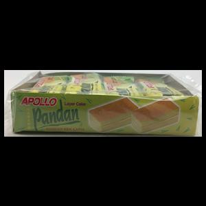 APOLLO L/CAKE PANDAN 1x8X22G