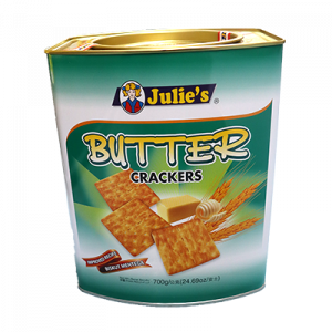 JULIE'S BUTTER CRACKERS 1X700G