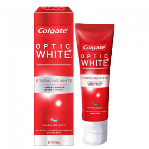 COLGATE T/PSTE OPTIC WHITE 1X100G