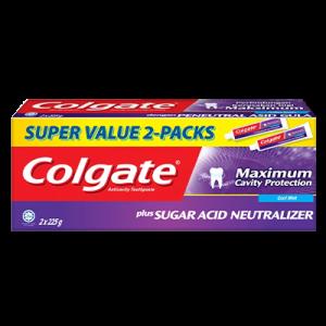 COLGATE T/P SUGAR A/NEU C/MINT T/PACK 1X2X225G