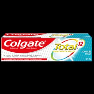 COLGATE T/PASTE TOTAL ADV FRESH 1X150G