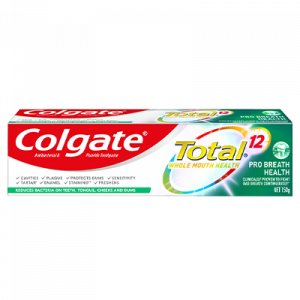 COLGATE T/PASTE TOTAL PRO B/HEALTH 1X150G
