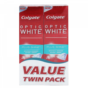 COLGATE T/P O/WHT P/SHINE T/PACK 1X2X100G