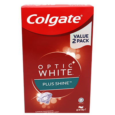 COLGATE T/P O/WHT S/MINT T/PACK 1X2X100G