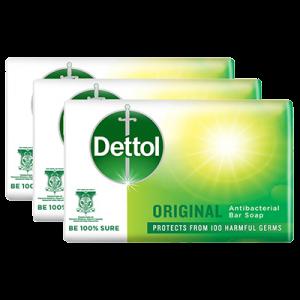 DETTOL BAR SOAP ORIGINAL 1X3X65G