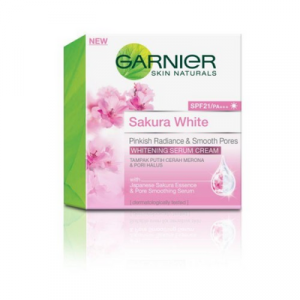 GARNIER S/WHITE MOIST CRM SPF21 1X50ML