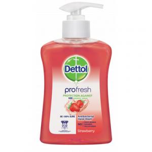 DETTOL HAND WASH S/BERRY 1X250ML