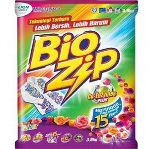 BIOZIP POLYBAG-COLOUR 1 X 3.8KG