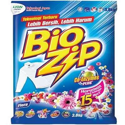 BIOZIP POLYBAG-FLORAL 1 X 3.8KG