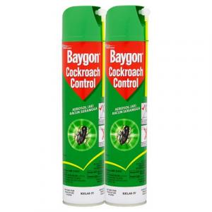 BAYGON AEROSOL T/P COCKROACH 1X2X570ML