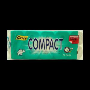 CUTIE COMPACT T/ROLL 1X10ROLLS