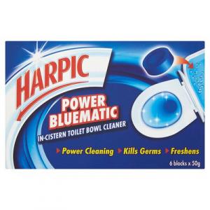 HARPIC BLUEMATIC (JUMBO) 1x6SX50G