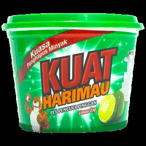 KUAT HARIMAU DISH WASH PASTE LIME 1X800G