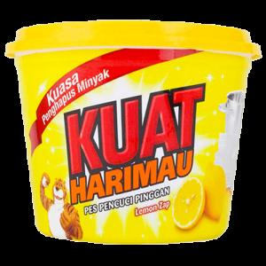 KUAT HARIMAU DISH WASH PASTE LEMON 1X800G