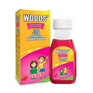 WOODS PEPPERMINT COUGH SYRUP CHILDREN 1 X 50ML