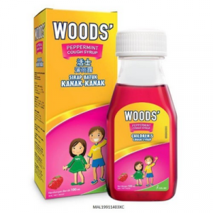 WOODS PEPPERMINT COUGH SYRUP CHILDREN 1 X 100ML