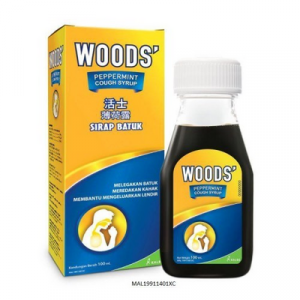 WOODS PEPPERMINT COUGH SYRUP ADULT 1 X 100ML