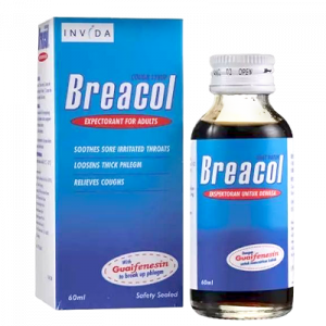 BREACOL COUGH SYRUP ADULT 1 X 60ML