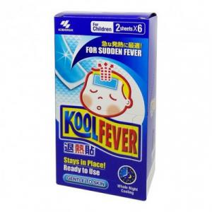 KOOLFEVER COOLING GEL SHEET (CHILD-6PC) 1X1BX