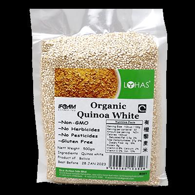 EA ORGANIC QUINOA - WHITE 1X500G