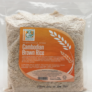 RADIANT CAMBODIAN BROWN RICE 1X1KG