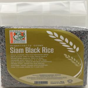 RADIANT SIAM BLACK RICE 1X1KG