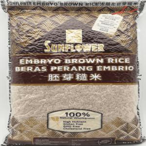 SUNFLOWER EMBRYO BROWN RICE 1X5KG