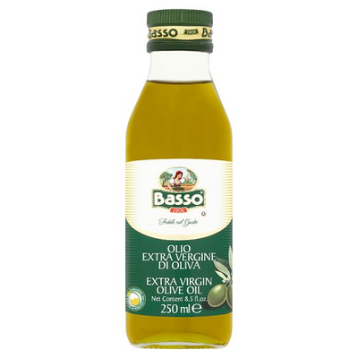 BASSO EXT VIRGIN OLIVE OIL 1X250ML