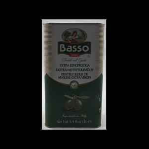 BASSO EXTRA VIRGIN OLIVE OIL 1X3LIT