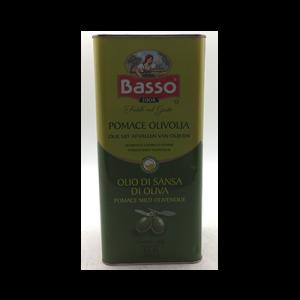 BASSO POMACE OLIVE OIL 1X5LIT