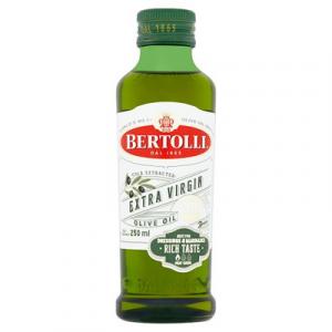 BERTOLLI EXTRA VIRGIN OLIVE OIL 1X250ML