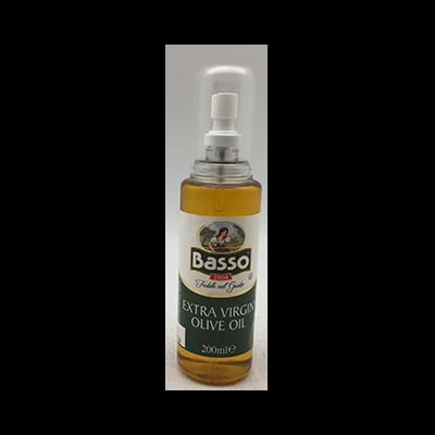 BASSO EXT VIRGIN OLIVE OIL SPRAY 1X200ML