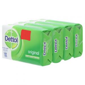 DETTOL BAR SOAP 3+1 ORIGINAL 1X4X100G