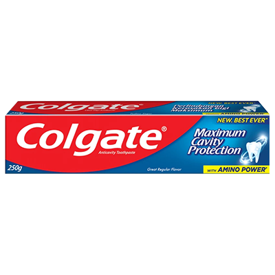 COLGATE T/PASTE RED GRF REGULAR 1 x 250G