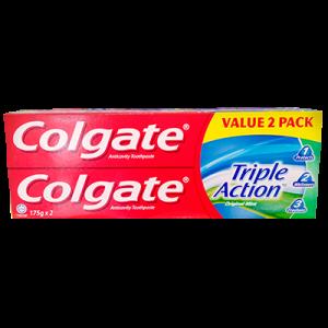 COLGATE T/PASTE TRI-ACTION T/P 1X2X175G