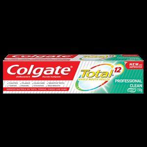 COLGATE T/PASTE TOTAL PROCLEAN 1X 160G