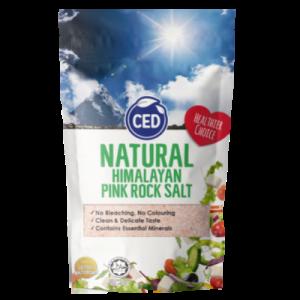 CED NAT HIMALAYAN PINK ROCK SALT 1X500G
