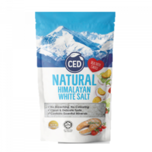 CED NAT HIMALAYAN WHITE SALT 1X500G