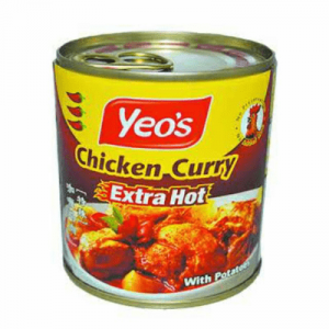 YEO'S CHIC CURRY EXT HOT 1X280G