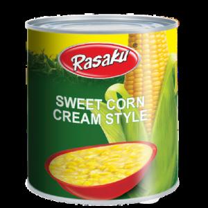 RASAKU CREAM STYLE CORN 1X425G