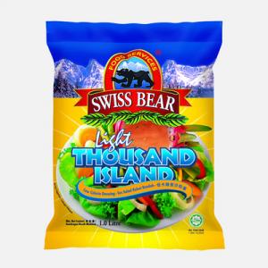 SWISS BEAR LIGHT THOUSAND ISLAND 1X1LIT