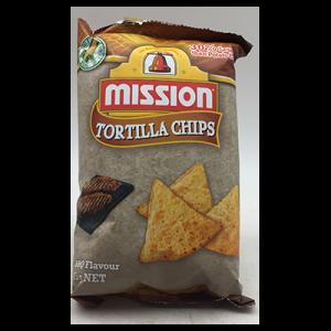 MISSION CHIPS BBQ  1X65G