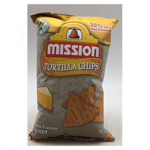 MISSION CHIPS CHEESE  1X65G