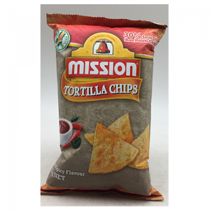 MISSION CHIPS HOT & SPICY  1X65G