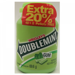 DOUBLEMINT CHEWING GUM 1X58G