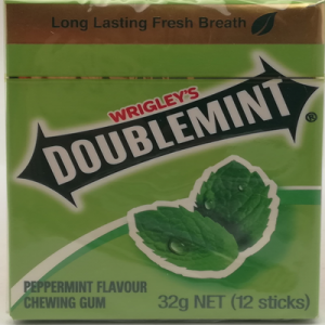 DOUBLEMINT GOLD CHEWING GUM 1X12S